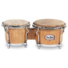 Gon Bops California Series Bongo, 7 and 8.5-inch, Natural by Gon Bops. $439.00. Using hand-selected lumber from only the finest air-dryed quarter-sawn Red Appalachian Oak, each stave of Gon Bops California Series Congas is meticulously cut, then cured for months. The shells are then hand-glued, hammered into shape and turned by an artisan who has made these shells ths old-fashioned way for over 20 years. Once they are sanded to a baby-soft finish, nearly one full year has...