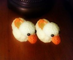 Nick's Quacking Booties pattern by Andrea Collins
