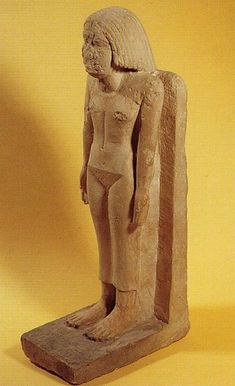 Escultura de Niankh-Hathor. Imperio Antiguo. Dinastía V. Guiza. Foto en Z. HAWASS, Secrets from the Sand. My Search for Egypt´s past