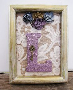 Baby Nursery Ideas For Girls Letter L Lilac Purple