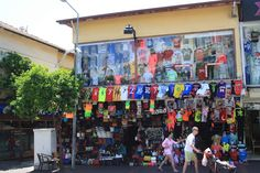 Alanya is shoppers paradise. In every corner you will find a shop with branding bags, clothes, towels and shoes.