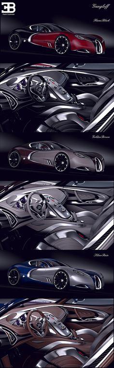 Bugatti Gangloff Concept by Paweł Czyżewski