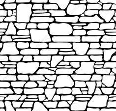 seamless stone wall vector clip art illustration all in a single rh pinterest co uk stone wall clipart free stone wall texture clipart