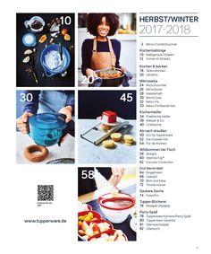 Tupperware Katalog 2017 Page 5 Tupperware Katalog, Fall Winter, Autumn, Dekoration, Fall Season, Fall