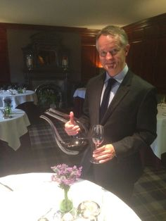 Our Sommelier of the month for April 2015 is James Payne of Fonab Castle. Click this photograph to view a selection of questions which James has very kindly answered for us.