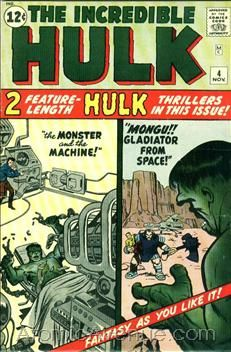 The Incredible Hulk #4 (1962)