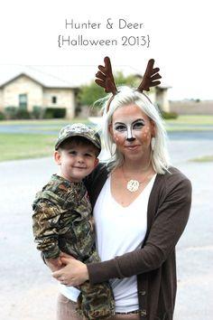 Hunter and deer costume plus 14 more creative DIY mom costumes