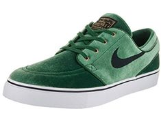 new product 49369 1fbf5 Shop for Nike Men s Zoom Stefan Janoski Prem TxT Green Skate Shoe. Get free  delivery at Overstock - Your Online Shoes Outlet Store!