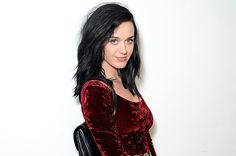 """Katy sitting and posing for her new single """"Roar""""!!!! The first single on her new album due out Oct. 22, 2013."""