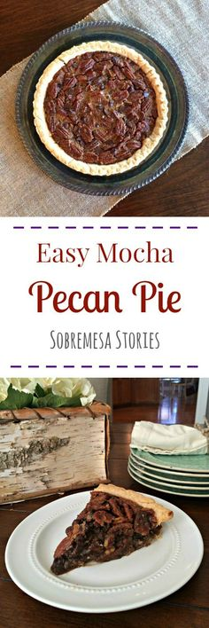 Delicious and easy twist on a pecan pie.  You'll never guess the secret ingredient!