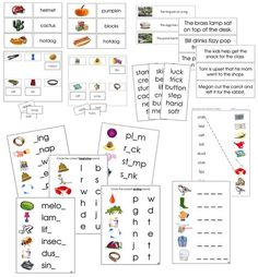 Step 2 Language Series Bundle Initial Sounds, Letter N Words, Word Pictures, Picture Cards, Language, Clip Art, Coding, Teaching