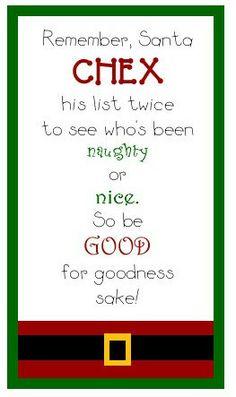 Happy Holidays: Ooey Gooey Chex Mix -- Tatertots and Jello