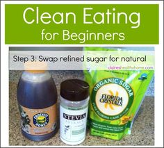 clean eating natural sweeteners