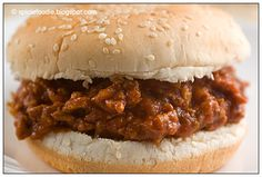Spicy sloppy joes!! - made this today, switched it up a bit (sub'd jalapenos for green peppers) - a big hit!