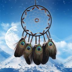 Large Dream Catcher Handmade Hanging Pendant Home Decorations For Gifts