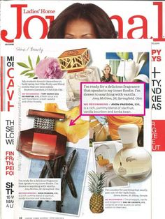 Avon Passion is featured in the December issue of Ladies' Home Journal! The rich yummy blend of starfruit, vanilla bourbon and tonka bean is a perfect gift for those who love delicious fragrances with a hint of vanilla.