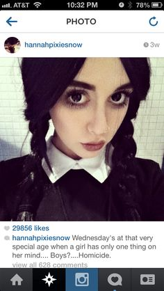 Hannah Pixie Snowdon as Wednesday Addams