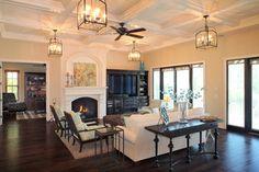 Bayshore Estates Custom Home - mediterranean - living room - tampa - by Devonshire Custom Homes