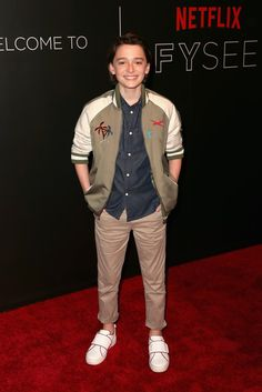 Noah Schnapp Photos Photos - Actor Noah Schnapp arrives at the Netflix FYSee Kick Off Event at Netflix FYSee Space on May 7, 2017 in Beverly Hills, California. - Netflix FYSEE Kick-Off Event - Arrivals