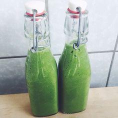 Grüne Smoothie power von dieser Woche