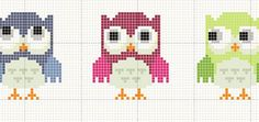 Thrilling Designing Your Own Cross Stitch Embroidery Patterns Ideas. Exhilarating Designing Your Own Cross Stitch Embroidery Patterns Ideas. Cross Stitch Owl, Cross Stitch Freebies, Cross Stitch Bookmarks, Cross Stitch Alphabet, Cross Stitch Charts, Cross Stitching, Cross Stitch Embroidery, Embroidery Patterns, Cross Stitch Patterns