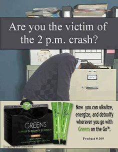 Does this look familiar? Try Greens by It Works. 8 servings of organic fruits & veggies plus 38 superfoods! Order at marciloves.myitworks.com $35 for 30 packets #organic #health #tired