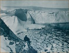 Photos of Antarctica by Frank Hurley taken between 1912-1915