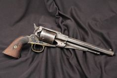 Remington Model 1858 New Model Army .44 Cartridge Conversion Revolver.
