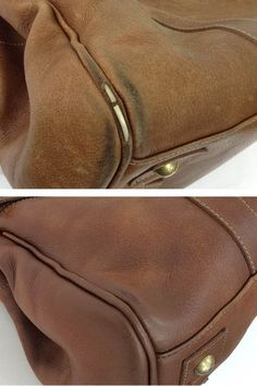 Worn corners are such a common problem we see here at The Handbag Spa! The piping on this Mulberry Bayswater was actually broken when it arrived at The Handbag Spa HQ. After the Piping Repair and Colour Restoration treatment, its back to looking its best thehandbagspa.com