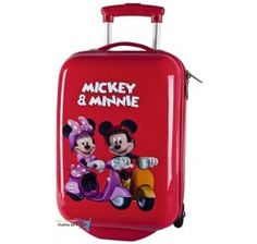 6b427037cd4d5 Cestovný kufor ABS Mickey a Minnie 55cm Abs, Suitcase, Suitcases, Fit Abs,
