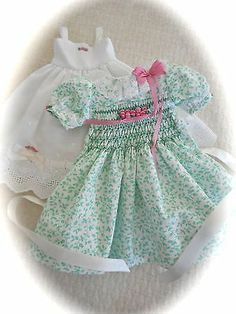 New Dianna Effner Little Darlings Exquisite Hand Smocked Embroidered Dress Slip | eBay. Sold 3/27/14 for $108.50.