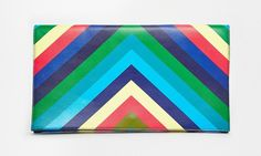 Buy ASOS Bold Stripe Clutch Bag at ASOS. With free delivery and return options (Ts&Cs apply), online shopping has never been so easy. Get the latest trends with ASOS now. Honeymoon Style, Asos, Latest Shoes, Latest Clothes, Bold Stripes, Saved Items, Beautiful Bags, Clothing Items, Pop Of Color
