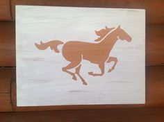Galloping horse for my BFF