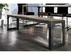 Slide 1 Industrial, Dining Bench, Furniture, Design, Home Decor, Lofts, Loft Room, Decoration Home, Loft