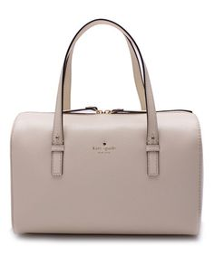 Another great find on #zulily! Porcelain Grand Street Melinda Leather Shoulder Bag #zulilyfinds