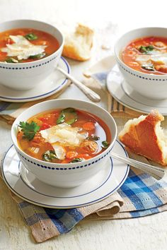 Satisfying Soups & Stews: Italian-Style Turkey Meatball Soup Recipe