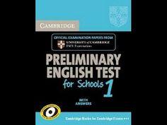 Listening B1, PET 1 for Schools, Test 4, Part 1