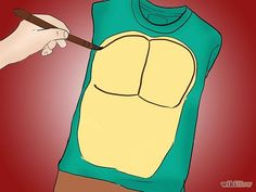 This is what Ash wants us to be this year.  3 Ways to Make a Teenage Mutant Ninja Turtles Costume - wikiHow