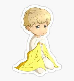Love Yourself Chibi Jimin Pegatina
