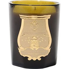 Cire Trudon Empire Candle at Barneys.com - His place will spell nice, but not girly.  House within a beautiful glass vessel.
