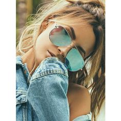 Quay x Desi Silver High Key Sunglasses ($54) ❤ liked on Polyvore featuring accessories, eyewear, sunglasses, silver sunglasses, quay eyewear, quay sunglasses and silver glasses