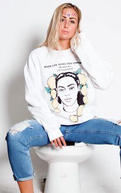Bey crew - spiltmilkmtl Graphic Sweatshirt, Canada, Sweatshirts, Sweaters, How To Make, Fashion, Moda, Fashion Styles, Sweater