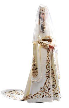 Circassian traditional wedding dress