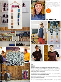 Antiform: unique prints meets interesting construction and relaxed shilouettes http://www.69bboutique.com/designers/antiform.html