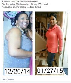 Just by drinking the Iaso tea you can achieve this just like her----------->