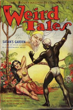 SATAN'S GARDEN interesting racial tension.