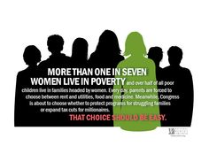 More Than One in Seven Women Live in Poverty