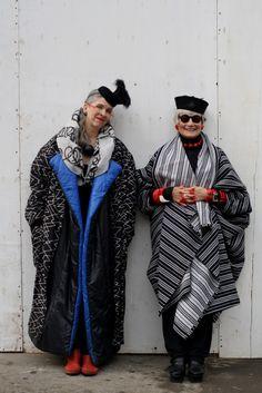 ADVANCED STYLE: The Idiosyncratic Fashionistas