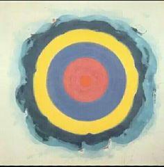 210. Kenneth Noland, Empireo, 1960 m 2,07x2,07 tela Milano Collezione privata