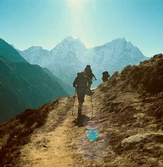 backpacking with my love. our plans for our 10 year include backpacking in south america together. John Muir, Adventure Awaits, Adventure Travel, Adventure Holiday, Nature Adventure, Voyage Nepal, Backpacking, Camping, Wanderlust
